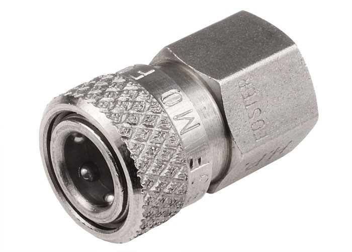 "Air Venturi Foster Quick Disconnect Female to 1/8"" BSPP Female, 5000 psi Rating"