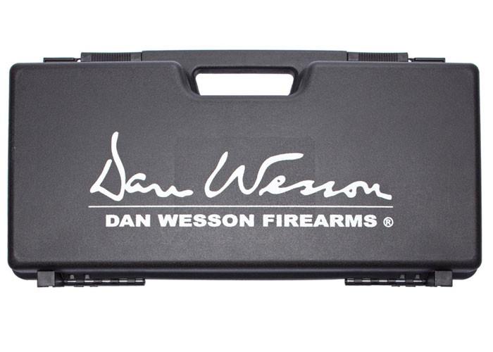 """ASG Dan Wesson Revolver Case With Logo, Plastic, Black, 3.3""""x9""""x18"""""""