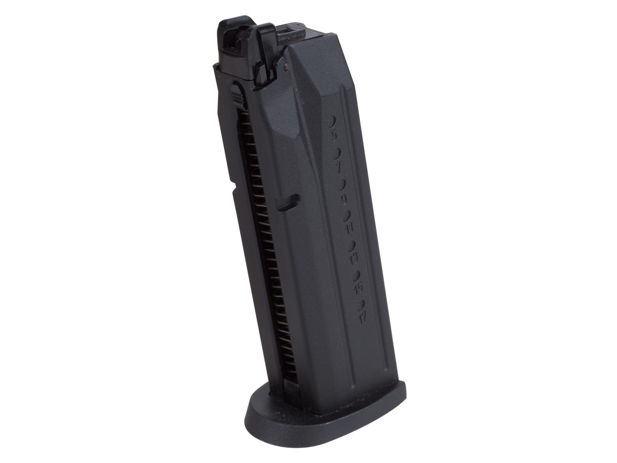 Smith & Wesson M&P 9 GBB Full Size Airsoft Pistol Magazine, 24 Rds