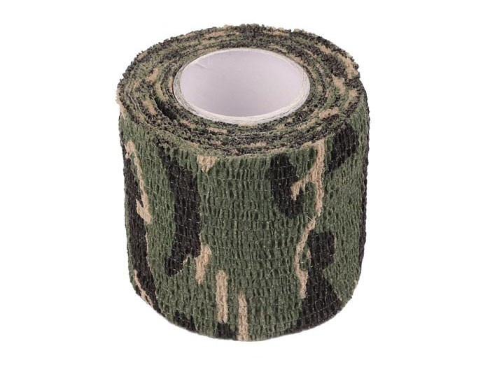 ASG Camouflage Stretch Fabric, Woodland