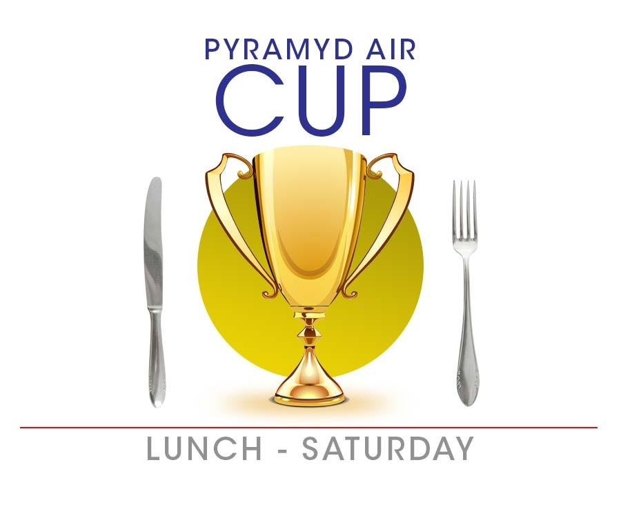 Pyramyd Air Saturday Lunch