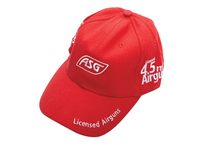ASG Airgun Cap, Red