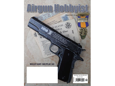 Airgun Hobbyist Magazine, Jan/Feb/Mar 2015 Issue