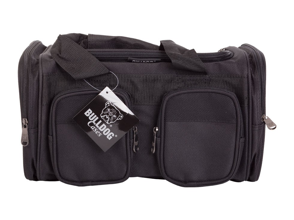 Bulldog Economy Range Bag With Shoulder Strap, Black