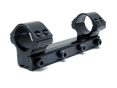 "Beeman 5040 1-Pc Mount w/1"" Rings, Medium, 9.5-11.5mm Dovetail"