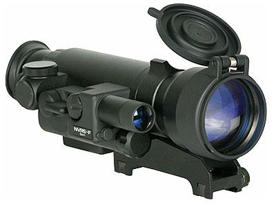 Yukon NVRS Tactical 2.5x50 Night Vision Rifle Scope, Weaver Mount