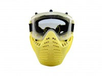 Scott Vectra Airsoft / Paintball Referee Yellow Goggle  Anti-Fog Mask PY-A-5848
