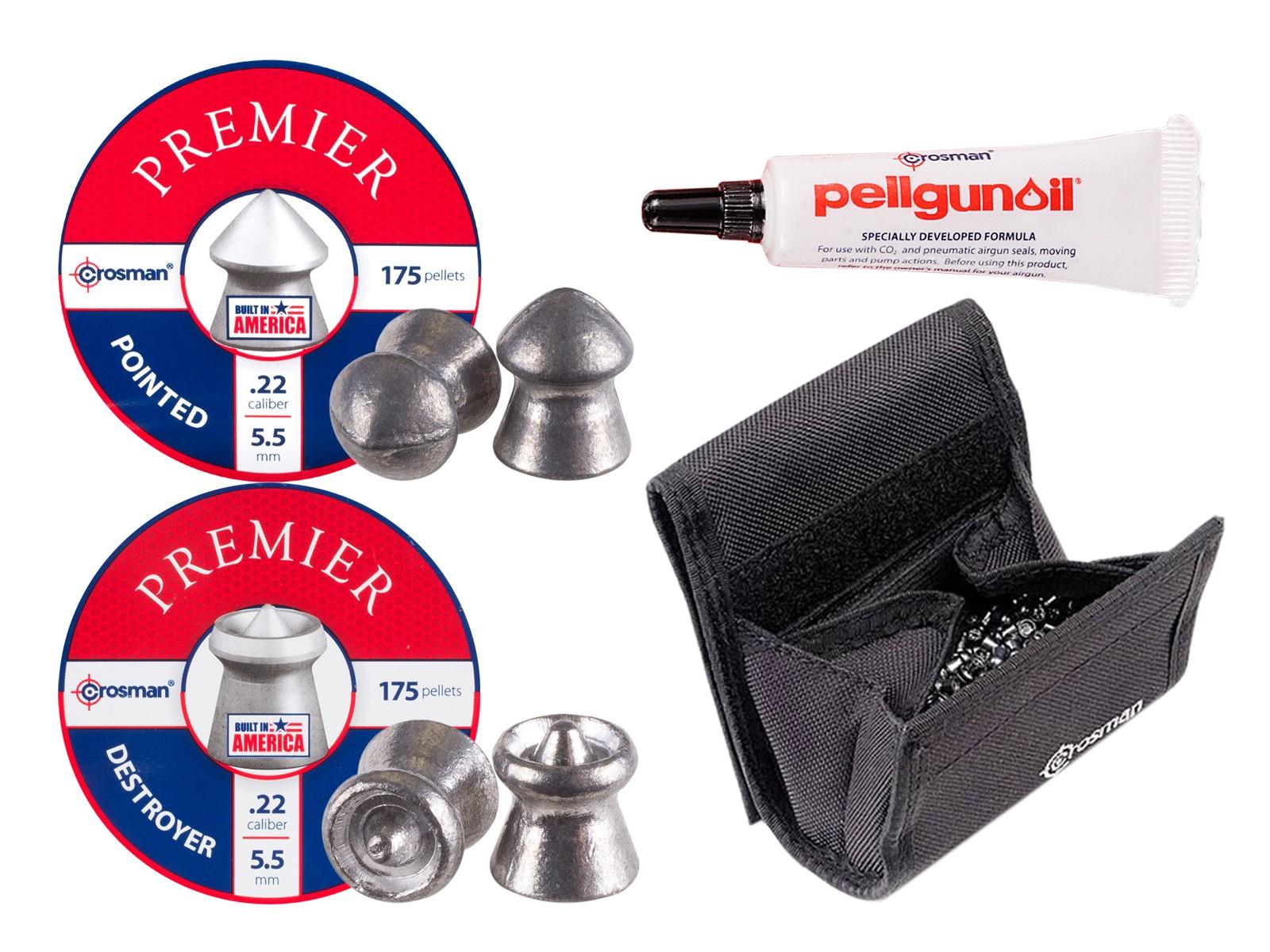 Crosman Shooters Pellet Kit, .22 Caliber