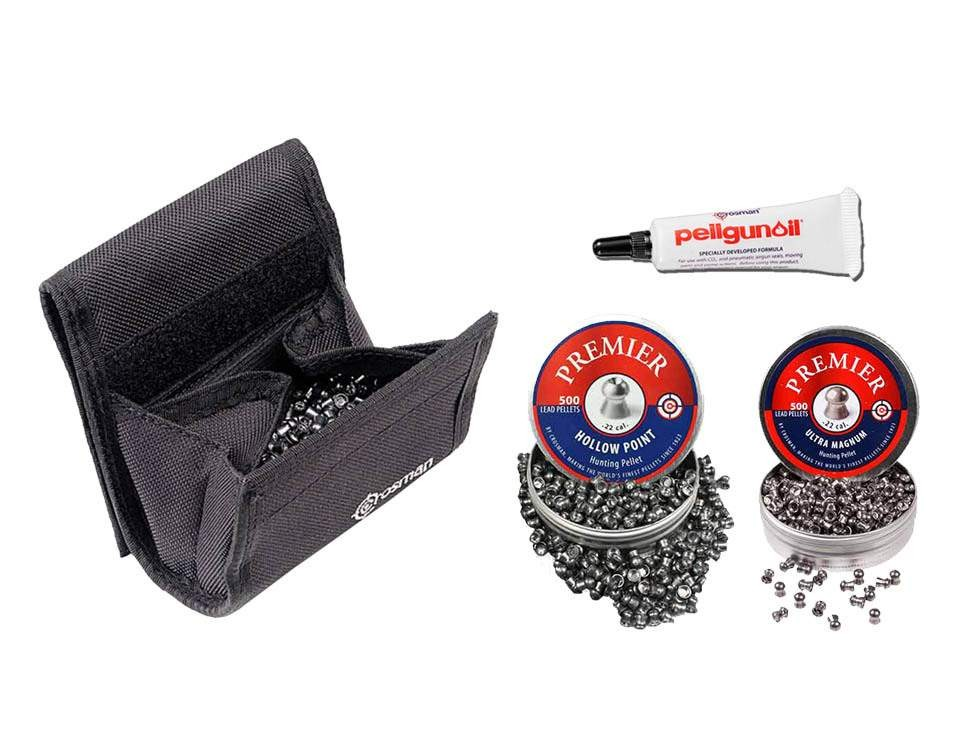 Crosman Premier Pellet Kit, .22 Caliber