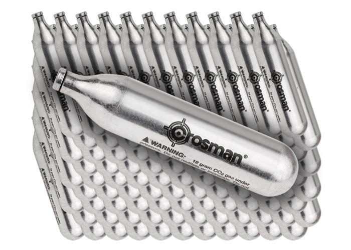 Crosman 12 Gram CO2, 100 Cartridges