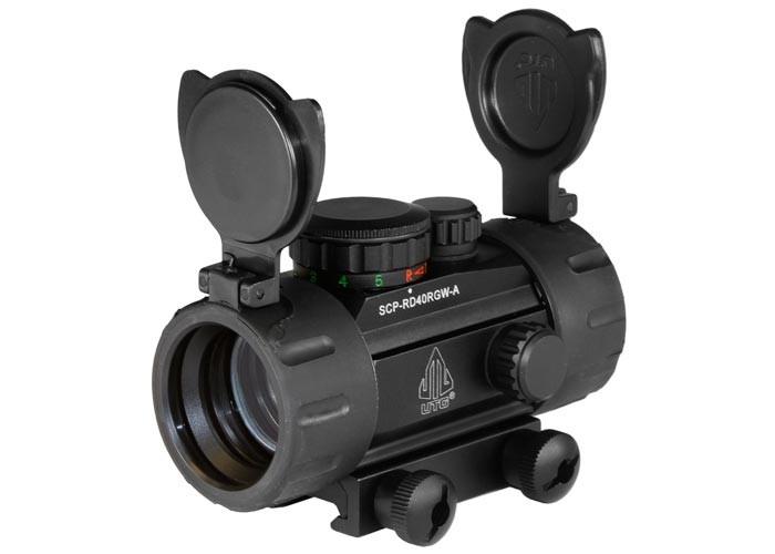 UTG 30mm Red/Green Dot Sight, Integral Picatinny Mounting Deck