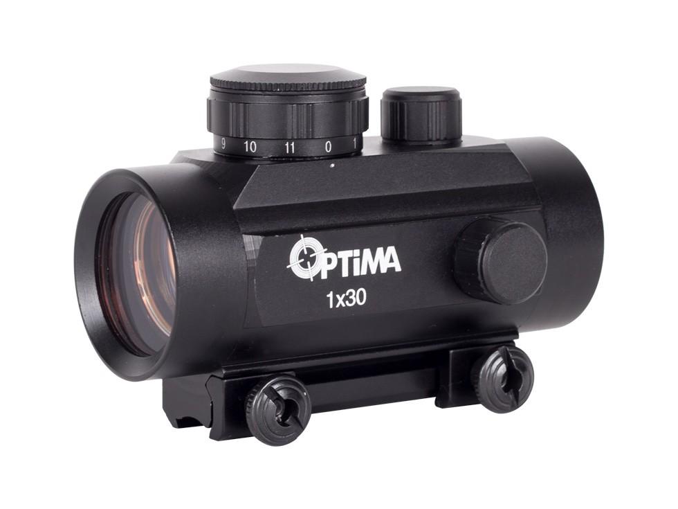 Hatsan 1x30 Red Dot Sight, Fits 11mm Dovetail