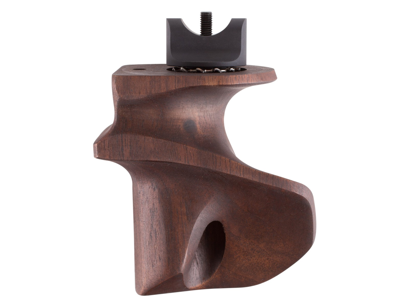 Anschutz ONE-Grip, Right-Hand, Walnut, Small, Fits 9015 Premium Target Air Rifle