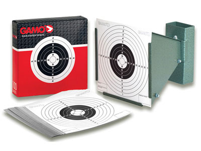 Gamo Cone Pellet Trap, Collapsible, 100 Paper Targets