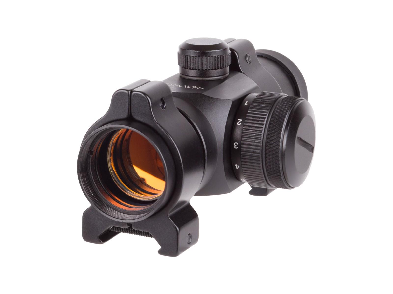 Hawke Sports Optic Reflex Sight, 4 MOA Red Dot, Weaver Mount