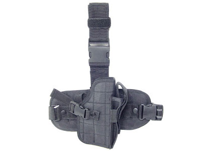 UTG Special Operations Universal Tactical Black Leg Holster