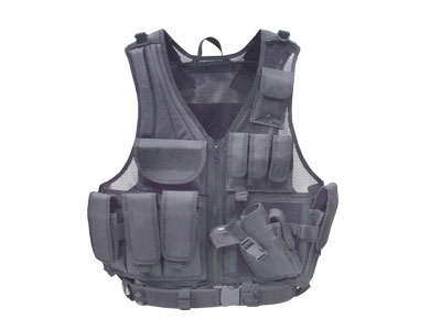UTG Airsoft Deluxe Tactical Vest – Black