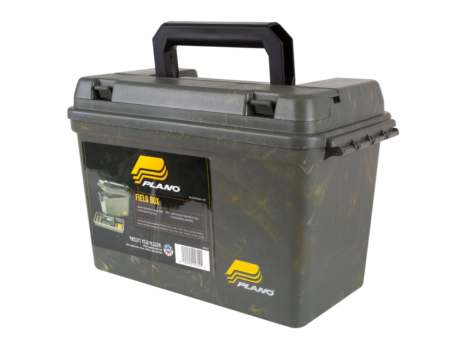 Plano 161200 Ammo Can Accessories Kotak Dvd Double 9mm Gt Pro