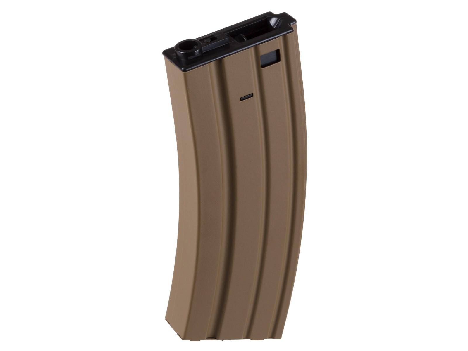 FN SCAR-L AEG Hi-Cap Airsoft Rifle Magazine, 450 Rds, Tan