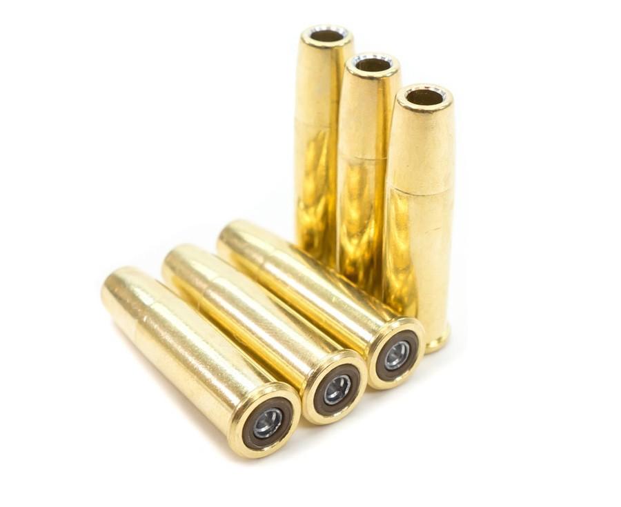Schofield No. 3/ Webley Mk VI Pellet Cartridges, .177 cal, 6ct