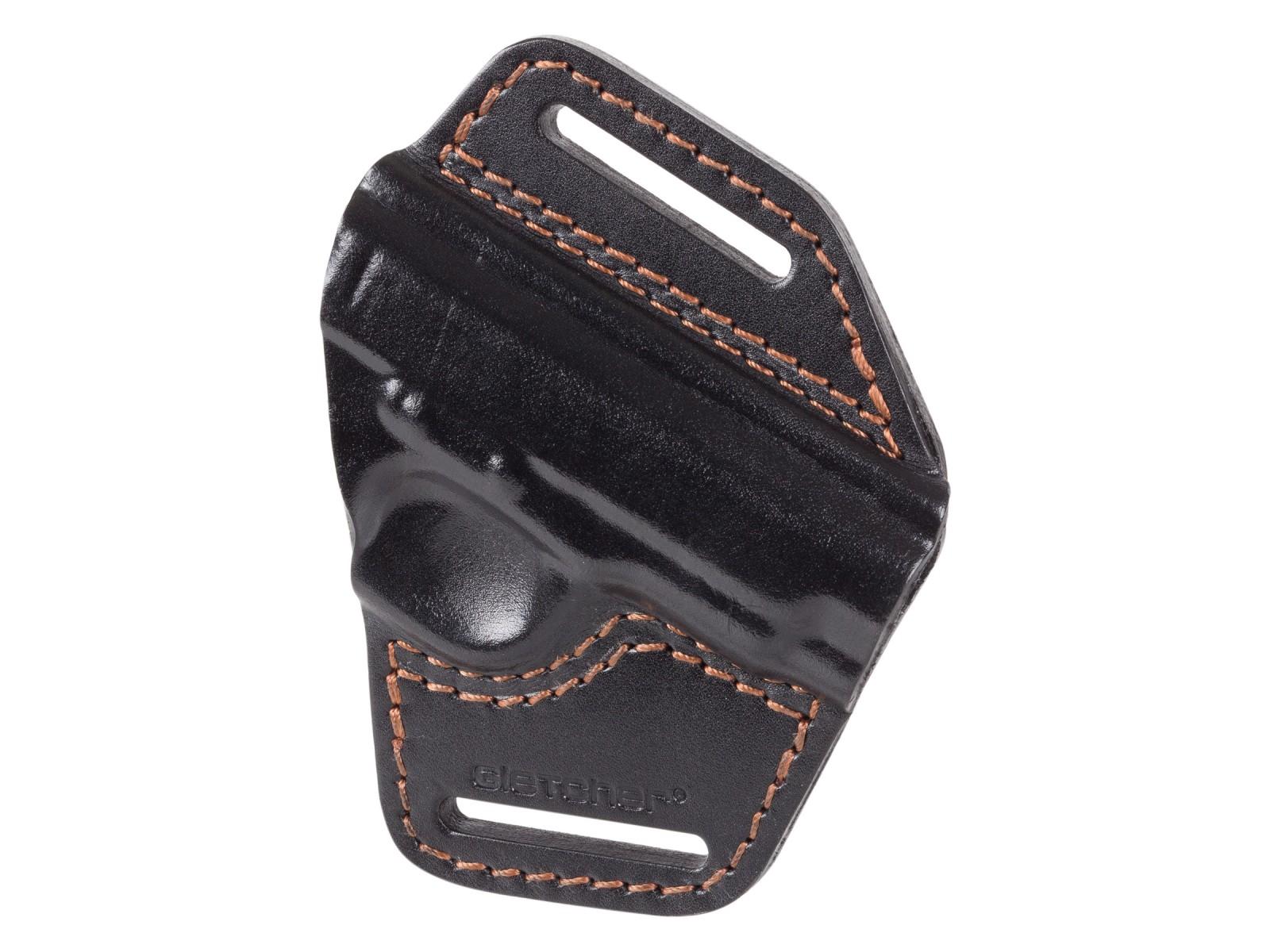 Gletcher TT Leather Belt Holster, Black