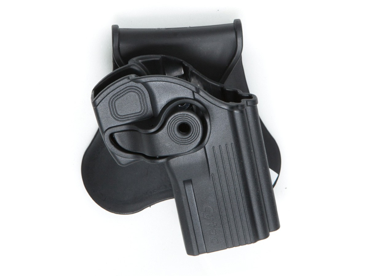 ASG/Strike Systems CZ 75D Compact Paddle Polymer Holster, Black