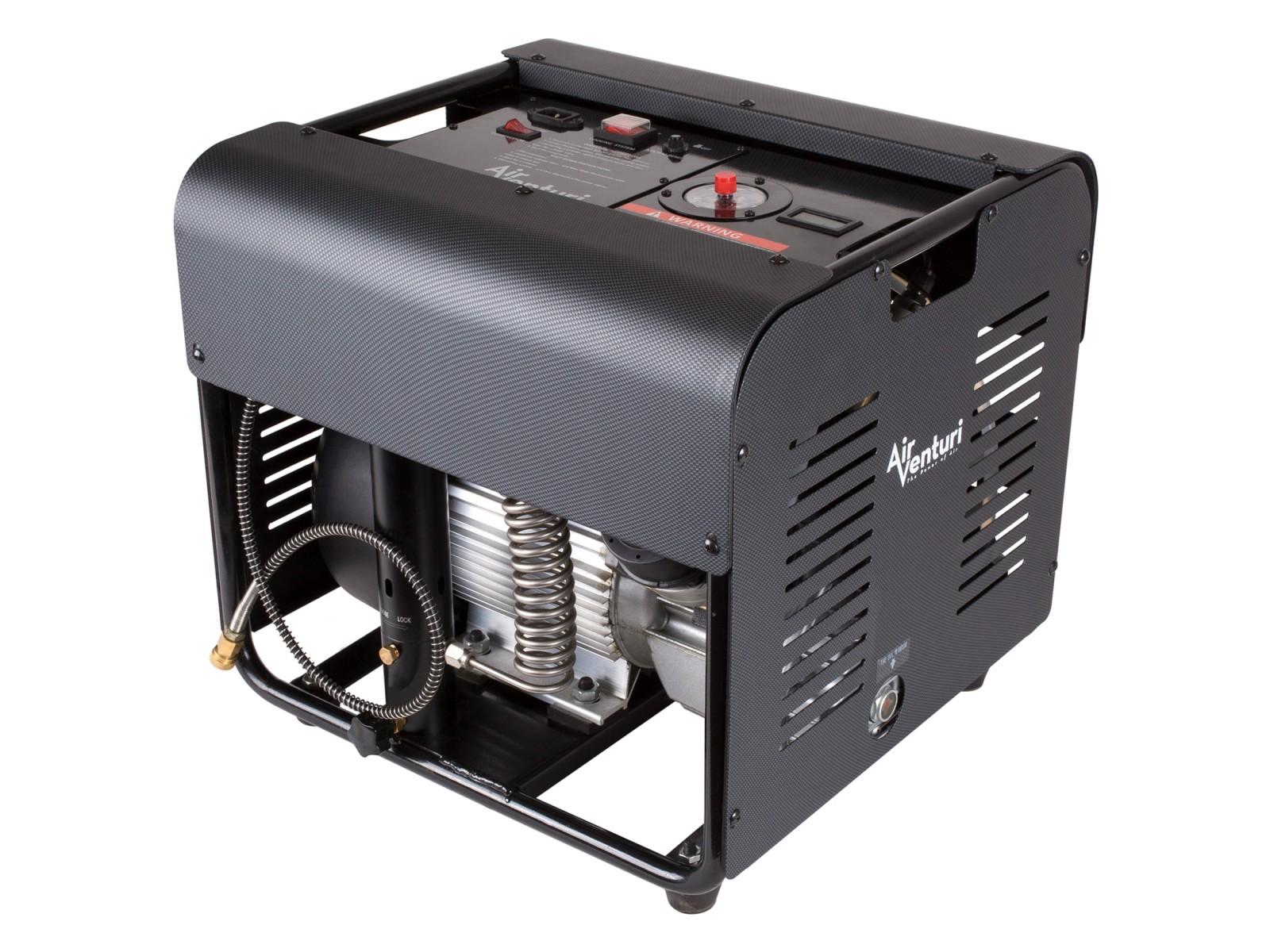 Air Venturi Air Compressor, Electric, 4500 PSI/310 Bar 220V Version