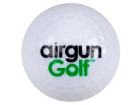 Air Venturi Exploding Golf Ball    Bursts when struck with direct hit  For playing long and short ra