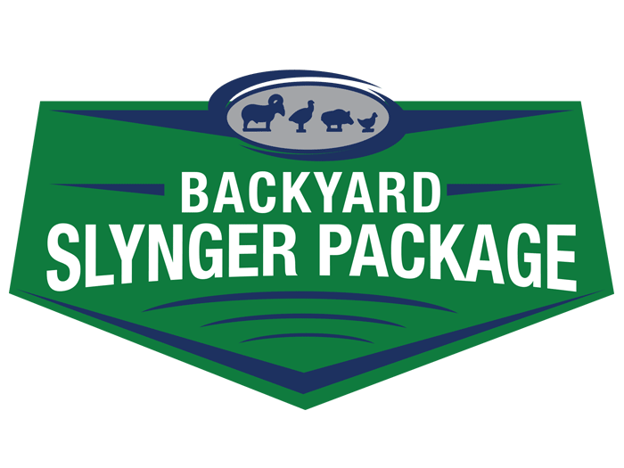 Backyard Slynger Package.
