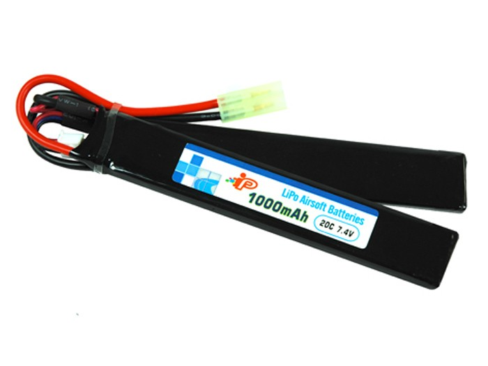 TSD/Intellect 7.4V 1000 mAh 20C LiPo Nun-Chuck Battery