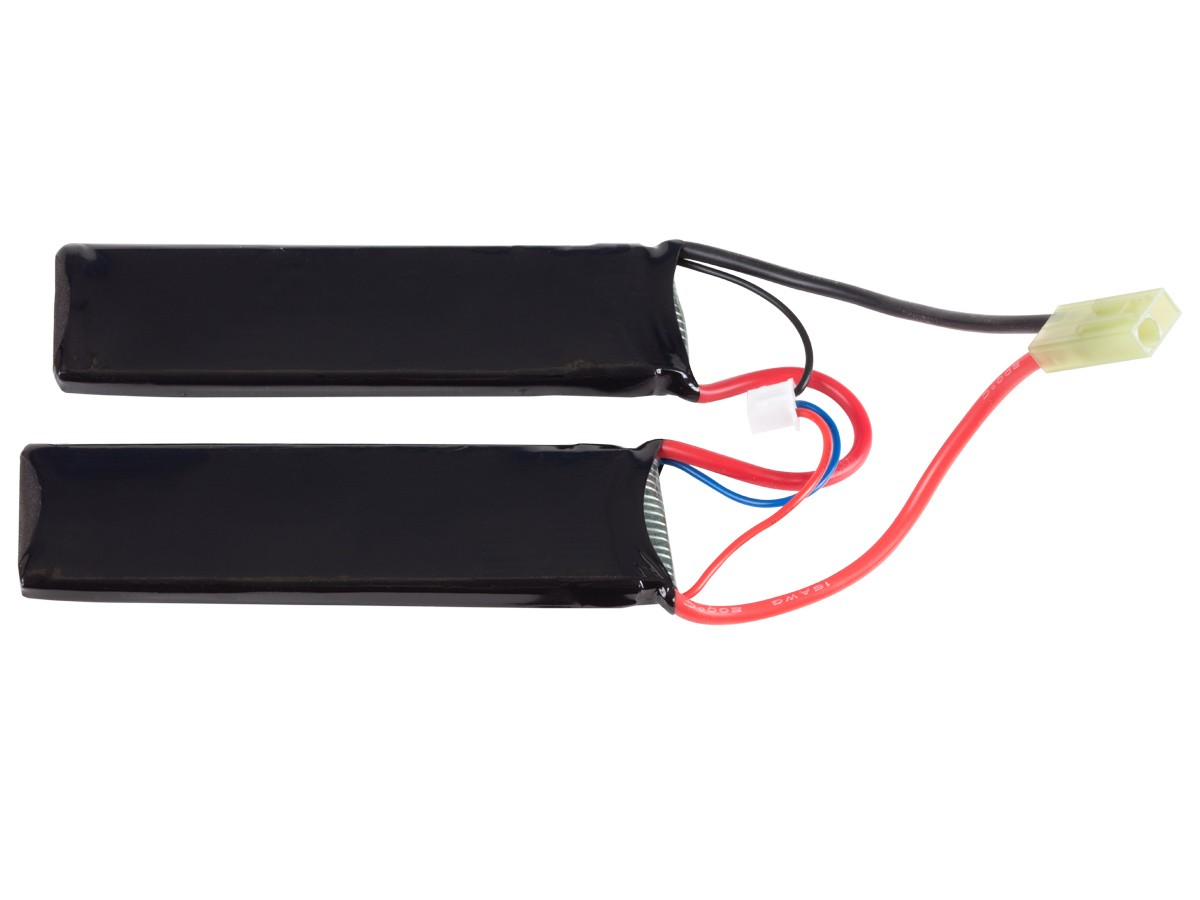 SRC Li-po 7.4V 1000 mAh Battery Butterfly-Pack With Small Tamiya Plug