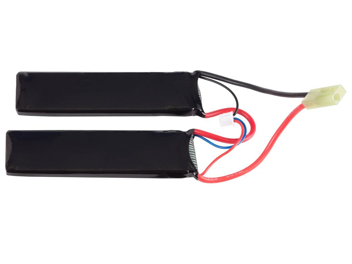 SRC Li-po 7.4V 1000 mAh Battery Butterfly-Pack With Small Tamiya Plug