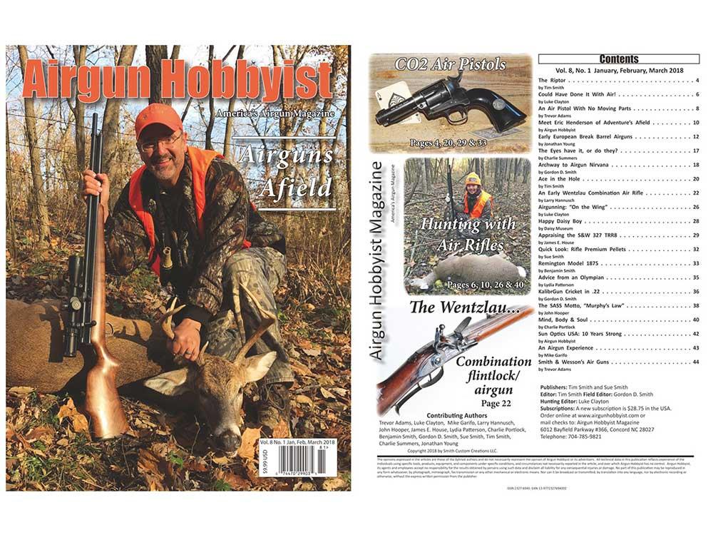 Airgun Hobbyist Magazine.