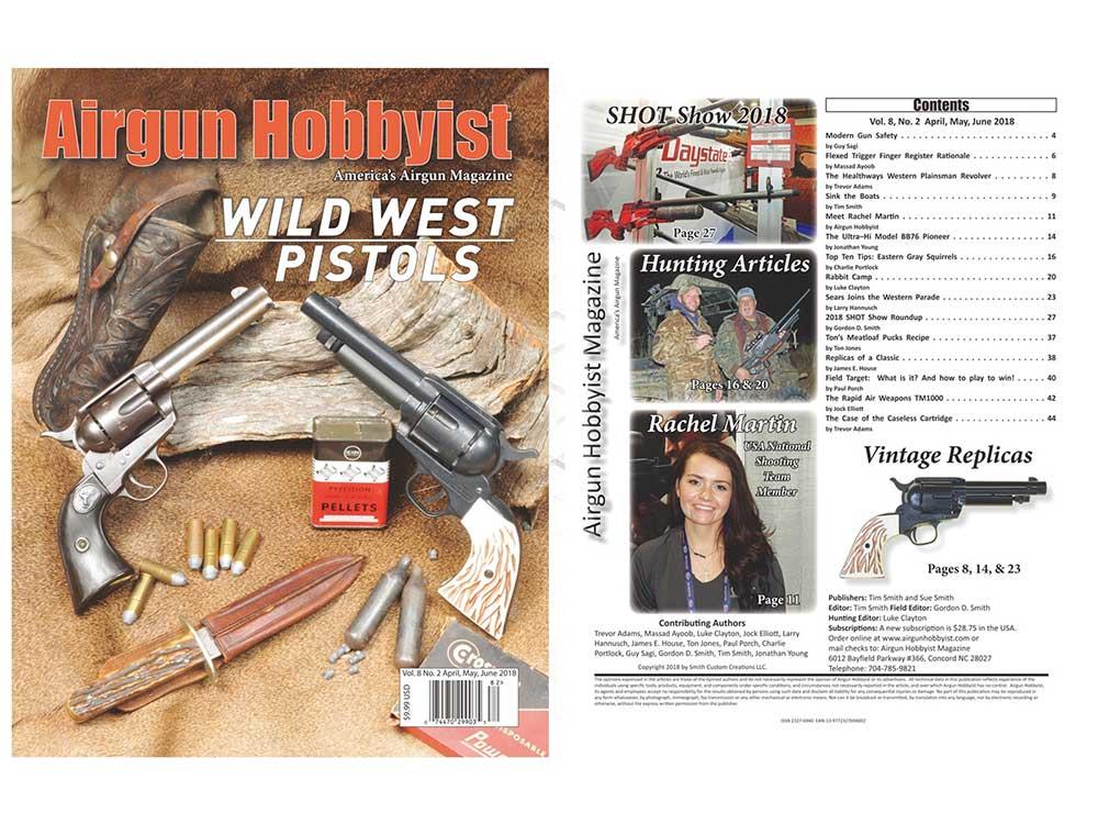 Airgun Hobbyist Magazine April/May/June 2018 Issue