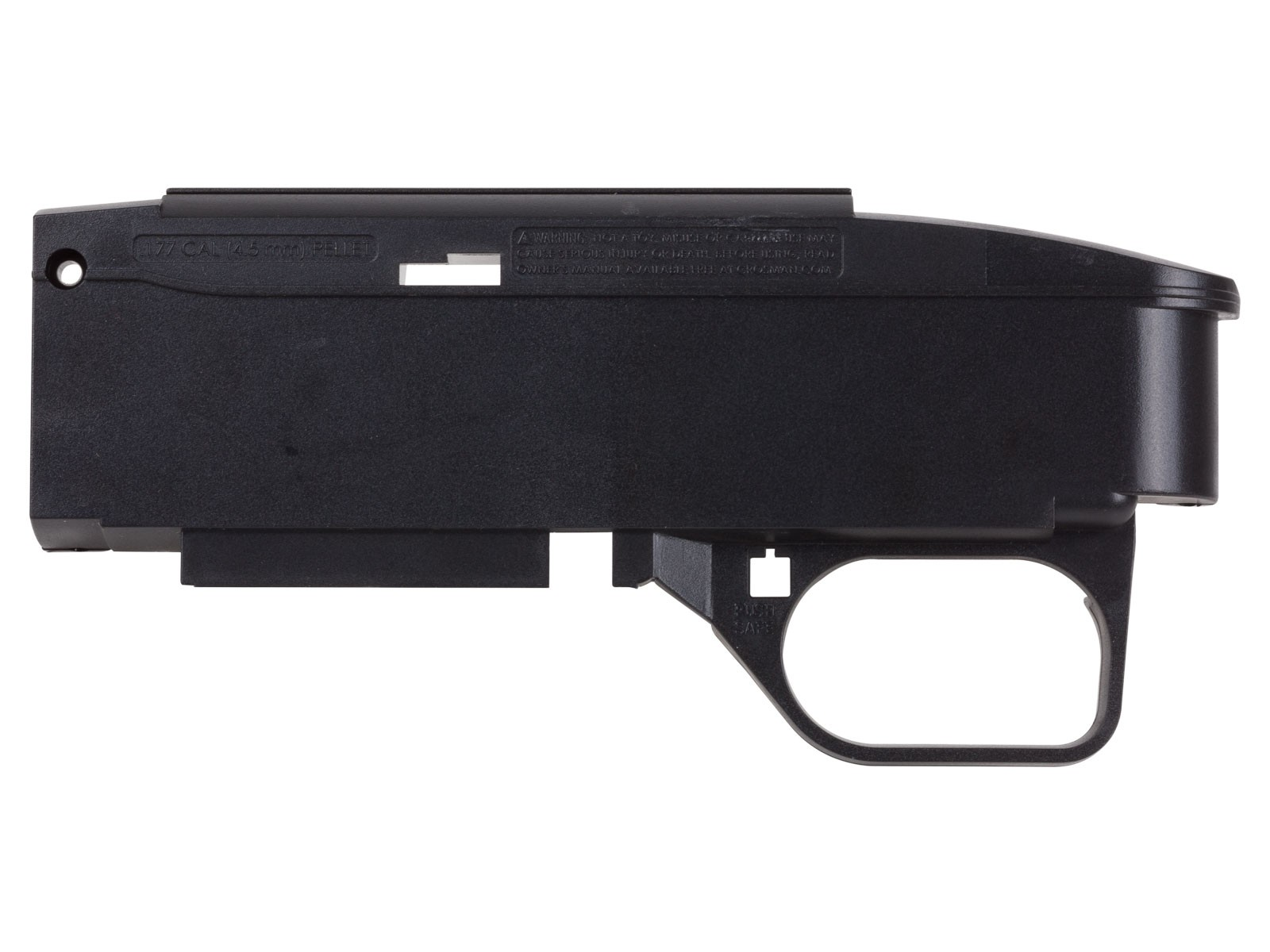 Crosman 1077 Air Rifle Receiver Left Hand Side with Trigger Guard