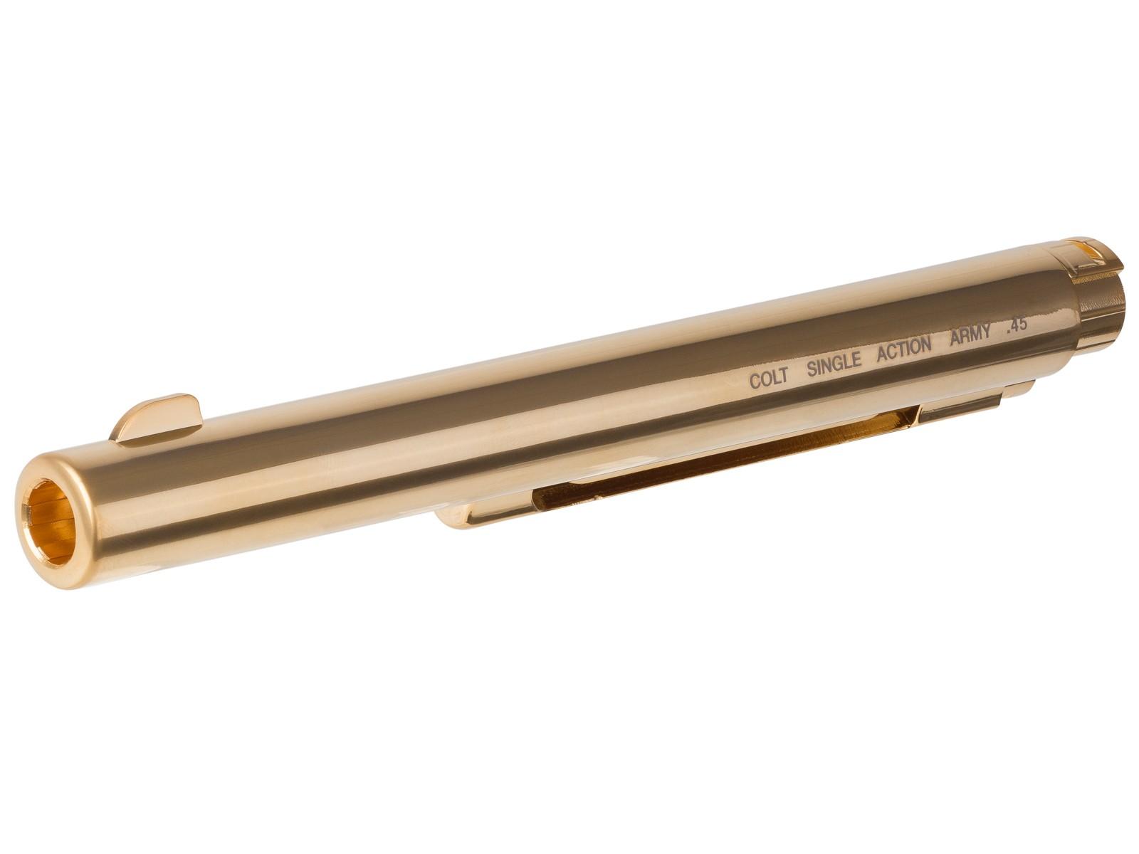 """Colt SAA45 Outer Barrel - 7.5"""" Gold"""