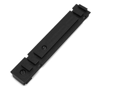 Walther Combi Rail, Fits CP88, Beretta 92FS & Colt CO2 Pistols, 11mm Dovetail & Weaver Rail
