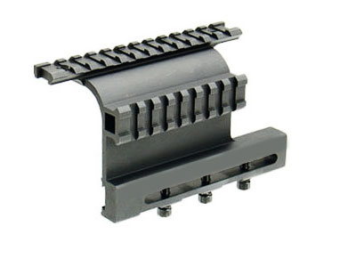 AK74 Side Mount with Double Rails
