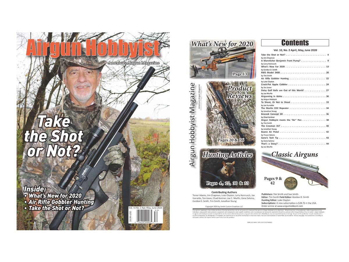 Airgun Hobbyist Magazine 2nd qtr. 2020
