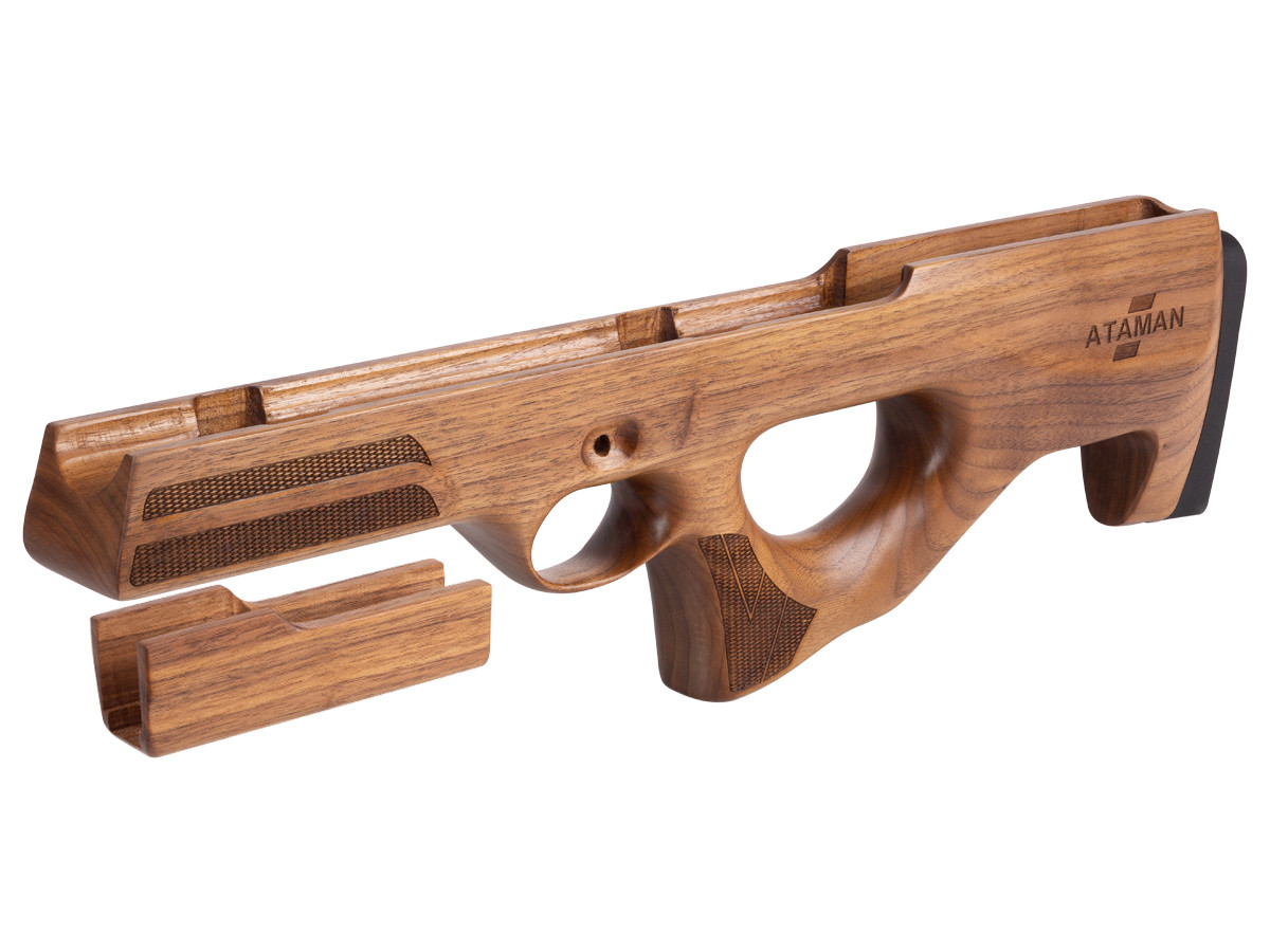 Ataman M2R Type 1 Bullpup Stock, Walnut
