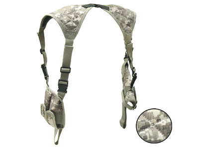UTG Deluxe Universal Horizontal Shoulder Holster, Army Digital Camo