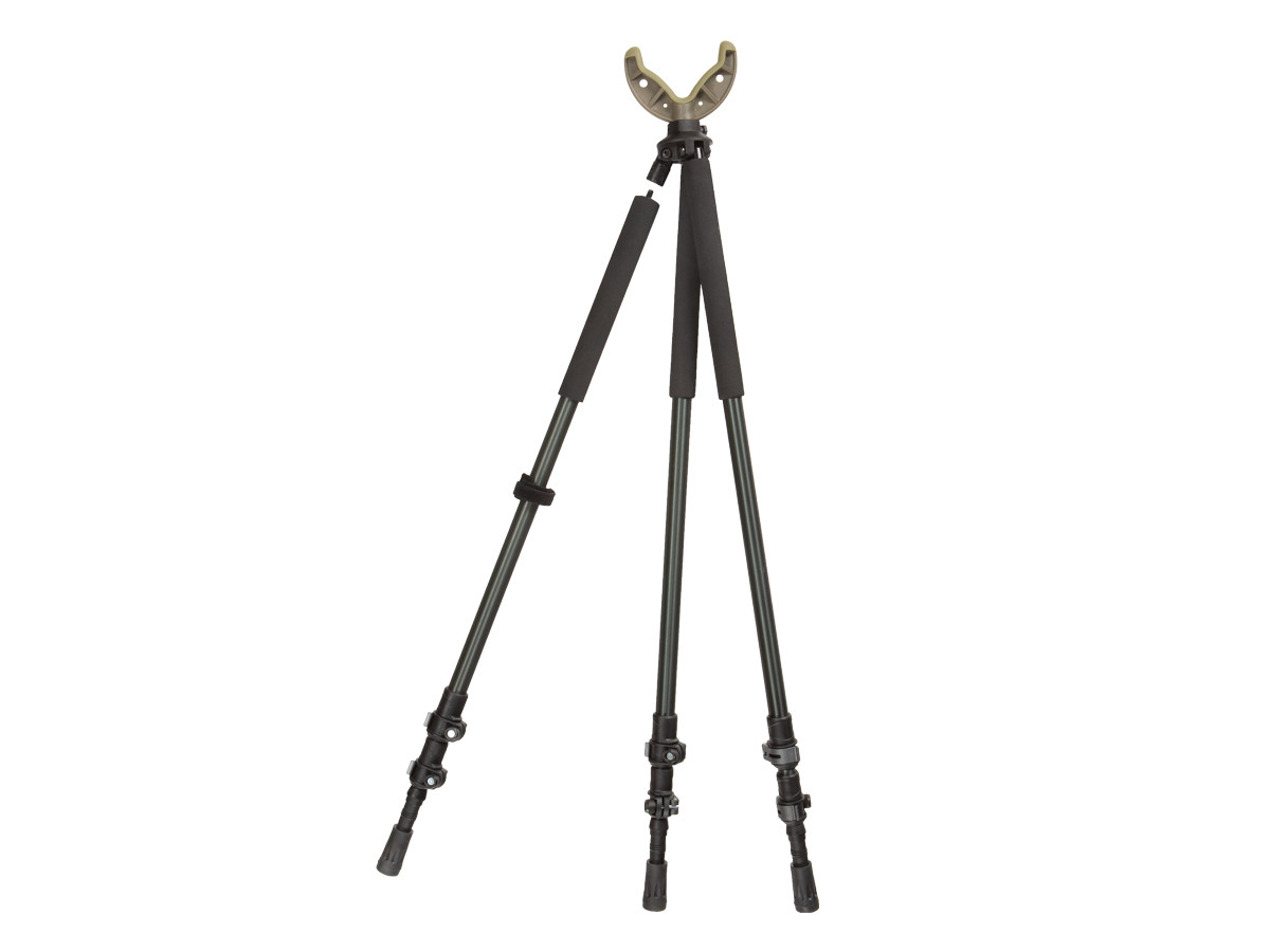 "Allen Company Axial Shooting Stick Tri/Bi/Monopod, 61"", Olive"