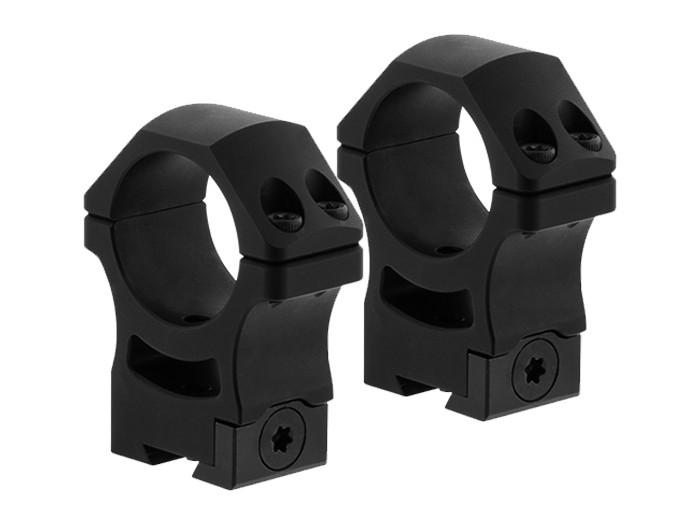 UTG PRO US Made 30mm Rings, High, POI Dovetail