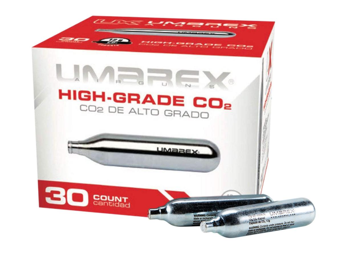 Umarex 12-Gram CO2 Cartridges, 30ct