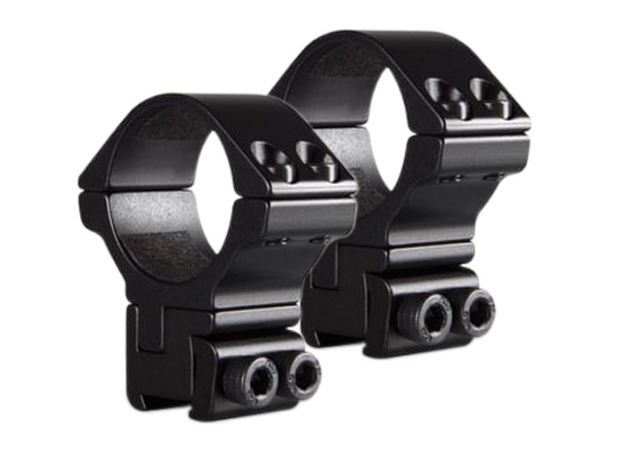 Hawke 2pc 30mm High Scope Rings, Adjustable, 9-11mm Dovetail