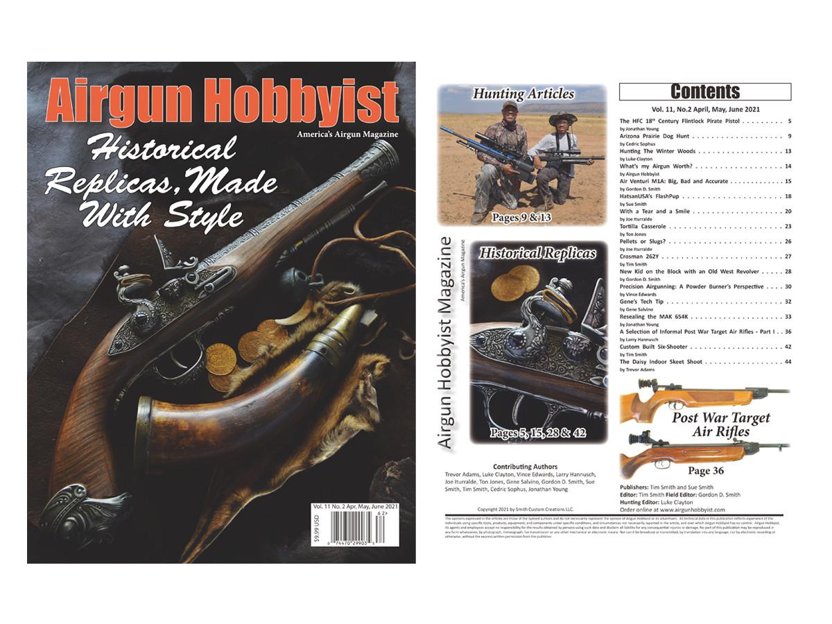 Airgun Hobbyist Magazine 2nd Qtr. 2021