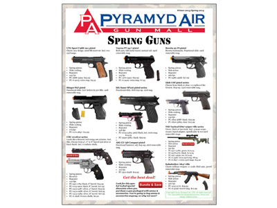 Pyramyd Air Airsoft catalog