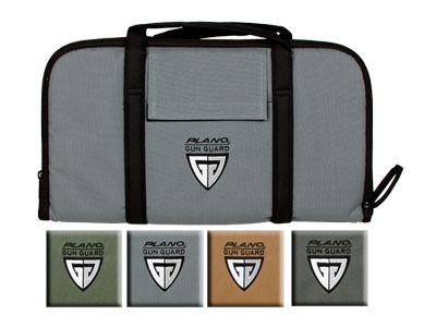 "Plano Soft Pistol Case, Large, Assorted Colors, 18""x10.25"""