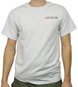 Pyramyd Air T-Shirt, Size Large, Heather