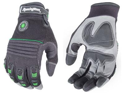 Remington R-13 Full-Finger Gloves, Gel-Padded, Large